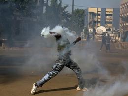 布基纳法索暴动震撼画面令美惊恐[图]