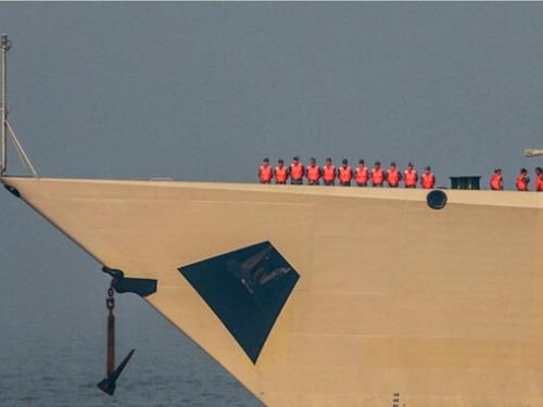 052D战舰117西宁舰入役北海舰队