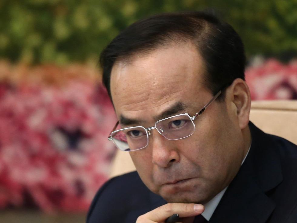 今日中国:孙政才失踪 习稳坐钓鱼台