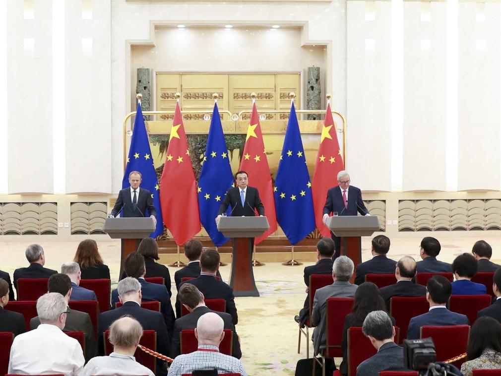 美欧共同声明难完成 法媒揭中国对欧盟展开新攻势