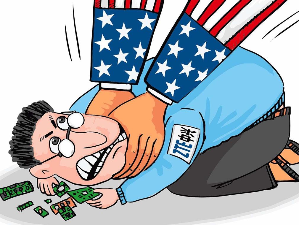 英媒:两名美国参议员呼吁美政府再次调查中兴