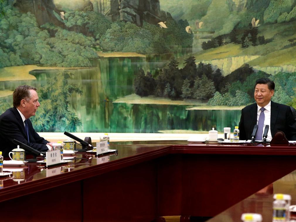 刘鹤谈判再迈一步 中美贸易协议雏形显现(图)