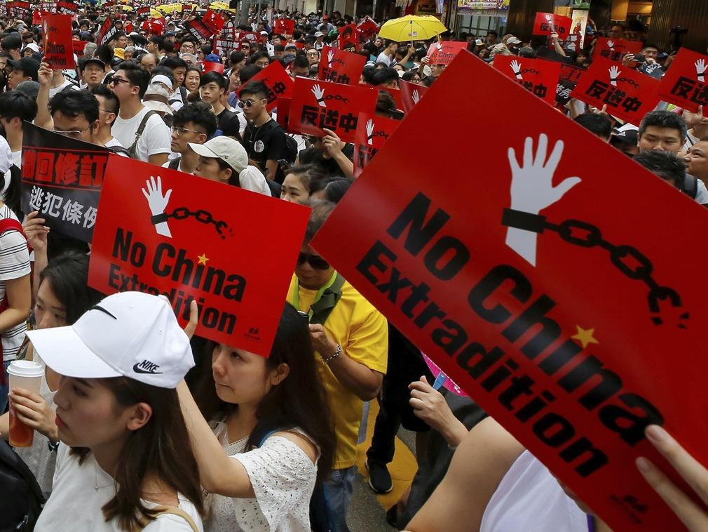 Image result for 香港反修例游行