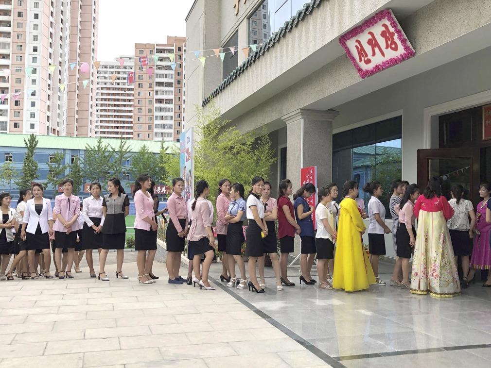 朝鲜举行第19届地方人民会议议员选举 金英哲风波后现身[图集]