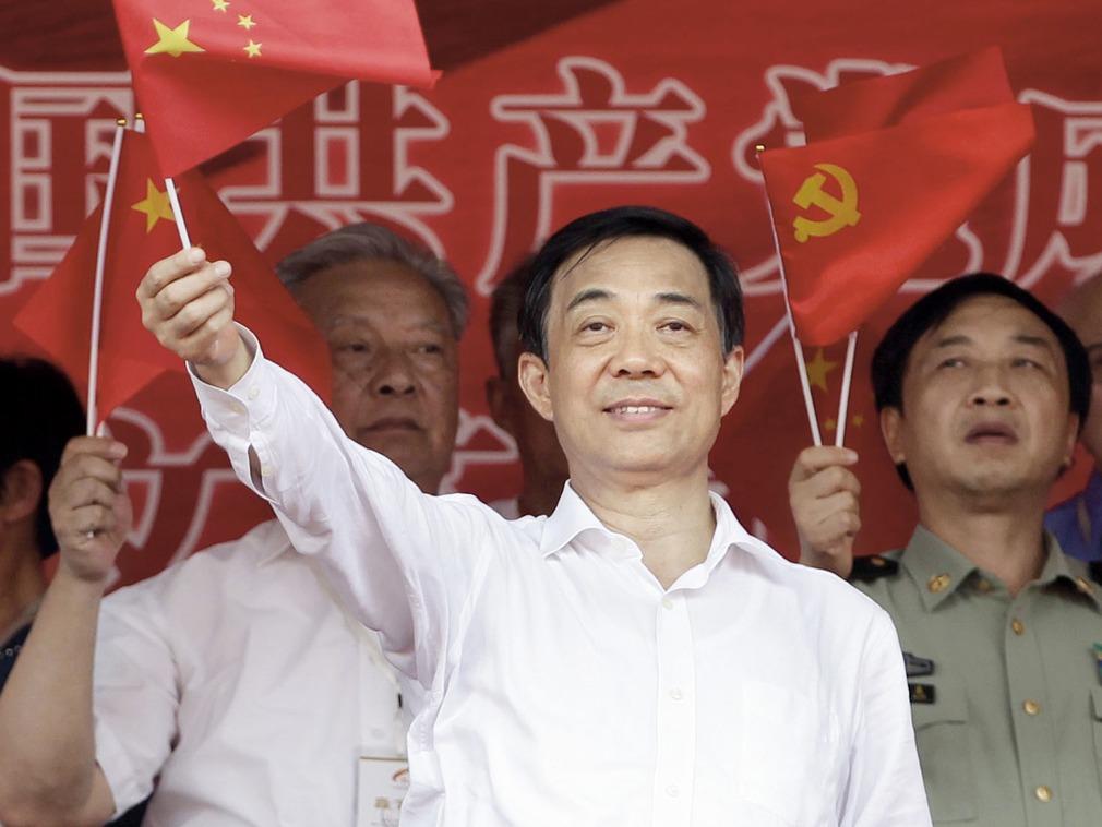 薄熙来唱红打黑受到外界批评(图源:Reuters)
